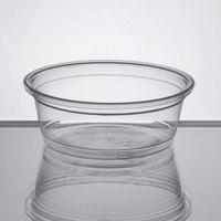 Choice 1.5 oz. Clear Plastic Souffle Cup / Portion Cup - 100/Pack