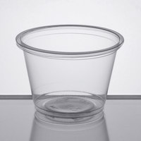 2.5 oz. Clear Plastic Souffle Cup / Portion Cup - 2500/Case
