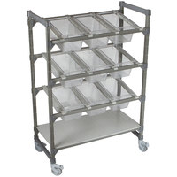 Cambro Camshelf Elements EMU244870FXPKG 24 inch x 48 inch Flex Station Display Rack