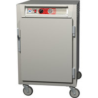 Metro C565-SFS-U C5 6 Series Solid Door Half-Height Reach-In Heated Holding Cabinet