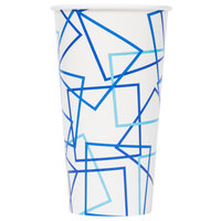 Choice 32 oz. Poly Paper Cold Cup - 50/Pack