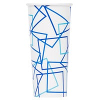 Choice 22 oz. Poly Paper Cold Cup - 50/Pack