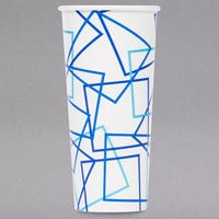 Choice 22 oz. Poly Paper Cold Cup - 40/Pack