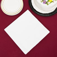 Creative Converting 59000B White 3-Ply Paper Dinner Napkin - 25/Pack