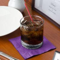 Creative Converting 318930 Amethyst 2-Ply Beverage Napkin - 50/Pack