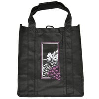 Non-Woven Two Bottle Wine Carrier - 50 / Case