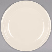 Creative Converting 28161031 10 inch Ivory Plastic Plate - 20/Pack