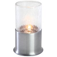 Sterno Products 80372 Corsa Hammered 5 1/2 inch Silver Lamp