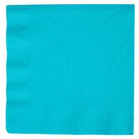 Bermuda Blue 3-Ply Dinner Napkin, Paper - Creative Converting 591039B - 25/Pack