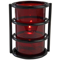 Sterno Products 80390 Epic 5 inch Red Lamp