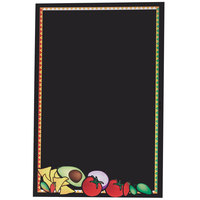 24 inch x 36 inch Black Marker Board with Mexican Graphic RMV-2436-MF