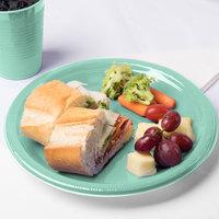 Creative Converting 318880 10 inch Fresh Mint Green Plastic Plate - 20/Pack