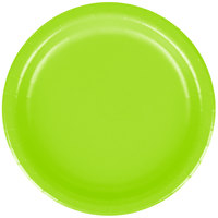 Creative Converting 793123B 7 inch Fresh Lime Green Paper Plate - 24/Pack