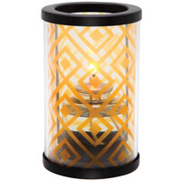 Sterno Products 80440 Muse 5 inch Diamond Amber Lamp