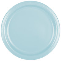 Creative Converting 47157B 9 inch Pastel Blue Paper Plate - 24/Pack