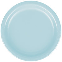 Creative Converting 79157B 7 inch Pastel Blue Paper Plate - 24/Pack