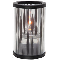 Sterno Products 80472 Muse 5 inch Zebra Black Lamp