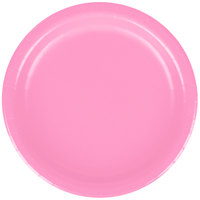 Creative Converting 793042B 7 inch Candy Pink Paper Plate - 24/Pack