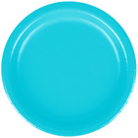 Creative Converting 791039B 7 inch Bermuda Blue Paper Plate - 24/Pack