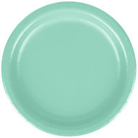 Creative Converting 318894 7 inch Fresh Mint Green Round Paper Plate - 24/Pack