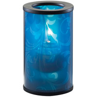 Sterno Products 80470 Muse 5 inch Whisp Blue Lamp