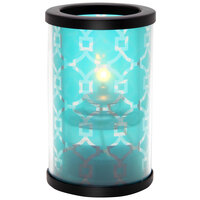 Sterno Products 80446 Muse 5 inch Oceanside Teal Lamp