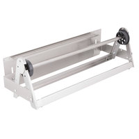 Bulman A575-24 24 inch Stainless Steel Countertop / Wall Mount Film Dispenser