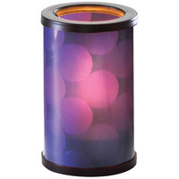 Sterno Products 80452 Muse 5 inch Ripple Purple Lamp