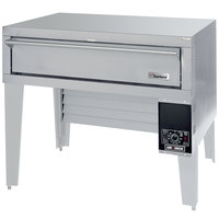 Garland G56PB Liquid Propane 63 inch Air Deck Pizza Oven with Bottom-Mounted Power Module - 80,000 BTU
