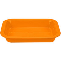 Homer Laughlin 963325 Fiesta Tangerine 9 inch x 13 inch Rectangular Baker - 2/Case