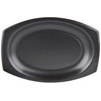 Dart 9PRBQR Quiet Classic 9 inch Black Laminated Foam Platter - 125/Pack