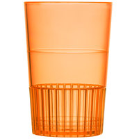 Fineline Quenchers 4115-ORG 1.5 oz. Neon Orange Hard Plastic Shooter Glass - 500/Case