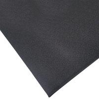 Cactus Mat 1001R-C6 72 inch x 60' Pro-Tekt Black Vinyl Carpet Protection Runner Mat - 1/8 inch Thick