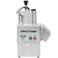 Robot Coupe CL50 Ultra Pizza Continuous Feed Food Processor - 1 1/2 hp