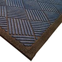 Cactus Mat 1509M-U46 Enviro-Scrape 4' x 6' Midnight Blue Carpet Mat - 3/8 inch Thick