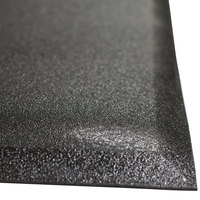 Cactus Mat 2300M-35 Walrus Hide 3' x 5' Black Anti-Fatigue Floor Mat - 3/4 inch Thick