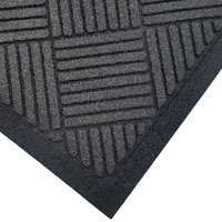 Cactus Mat 1509M-L35 Enviro-Scrape 3' x 5' Graphite Gray Carpet Mat - 3/8 inch Thick