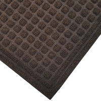 Cactus Mat 1508M-B46 Enviro-Tuff 4' x 6' Walnut Brown Carpet Mat - 3/8 inch Thick