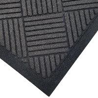 Cactus Mat 1509M-L46 Enviro-Scrape 4' x 6' Graphite Gray Carpet Mat - 3/8 inch Thick