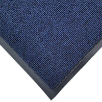 Cactus Mat 1471M-U46 4' x 6' Blue Olefin Carpet Entrance Floor Mat - 3/8 inch Thick
