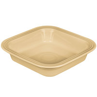 Homer Laughlin 962330 Fiesta Ivory 9 inch Square Baker - 2/Case