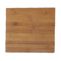 American Metalcraft MPSB 11 1/4 inch Square Bamboo Melamine Serving Board