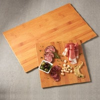 American Metalcraft MPSB 11 1/4 inch Square Bamboo Melamine Serving Board