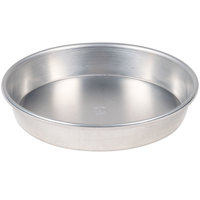American Metalcraft HA90101.5 10 inch x 1 1/2 inch Heavy Weight Aluminum Tapered / Nesting Pizza Pan
