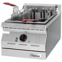 Garland ED-15F Designer Series 17 lb. Electric Countertop Deep Fryer - 240V, 5.3 kW