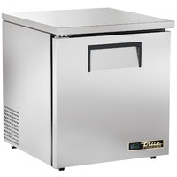 True TUC-27F-LP-HC LH 27 inch Low Profile Undercounter Freezer with Left-Hinged Door