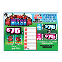 Cherry Mash 1 Window Pull Tab Tickets - 180 Tickets per Deal - Total Payout: $130