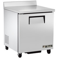 True TWT-27F-ADA-HC LH 27 inch ADA Compliant Worktop Freezer with Left-Hinged Door