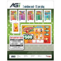 Giant Jackpot Pack 1 Window Pull Tab Tickets - 996 Tickets per Deal - Total Payout: $700