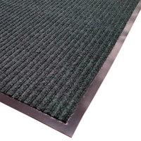 Cactus Mat 1485M-G31 3' x 10' Green Needle Rib Carpet Mat - 3/8 inch Thick